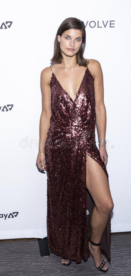 The Daily Front Row 7th Fashion Media Awards. New York, NY, USA - September 5, 2019: Julia van Os attends The Daily Front Row 7th Fashion Media Awards at The stock photography