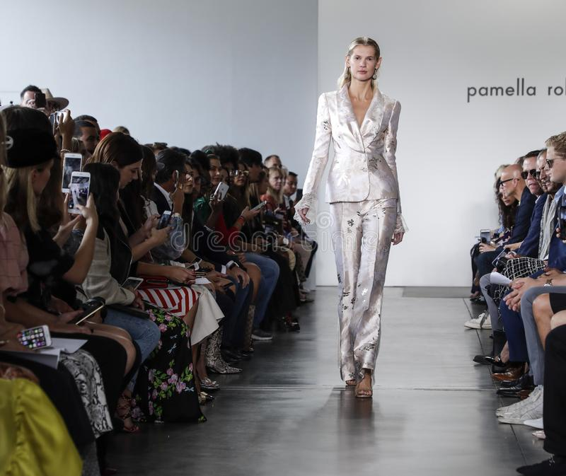 Pamella Roland SS 2020 royalty free stock photography