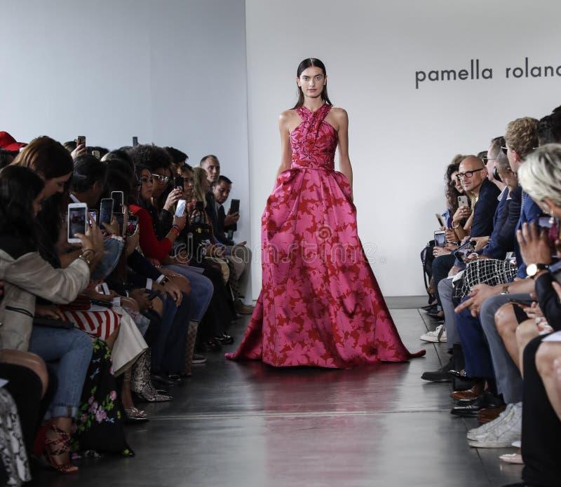 Pamella Roland SS 2020 stock photos