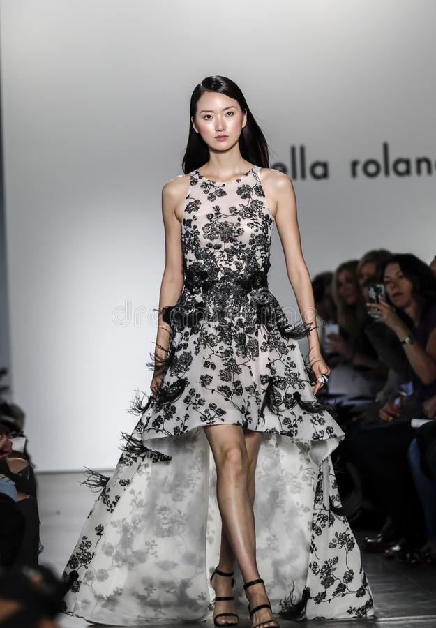 Pamella Roland SS 2018 runway show stock images