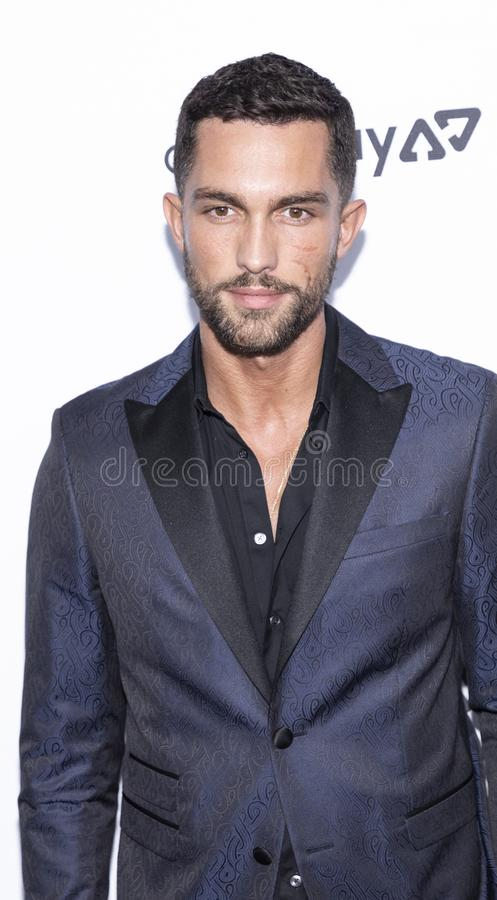 The Daily Front Row 7th Fashion Media Awards. New York, NY, USA - September 5, 2019: Tobias Sorensen attends The Daily Front Row 7th Fashion Media Awards at The royalty free stock photography
