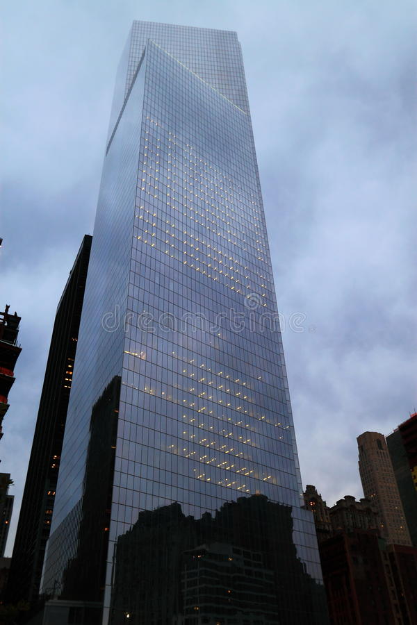 New York One World Trade Center. One World Trade Center buildings in New York, United States stock image