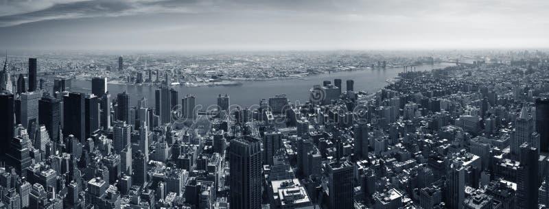 New York panorama royalty free stock photo