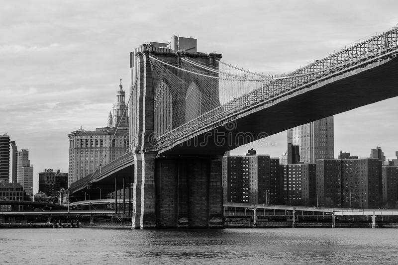 New York. Picture taken in New York. This is the Brooklyn Bridge taken by JM also know as AnonJx stock photography