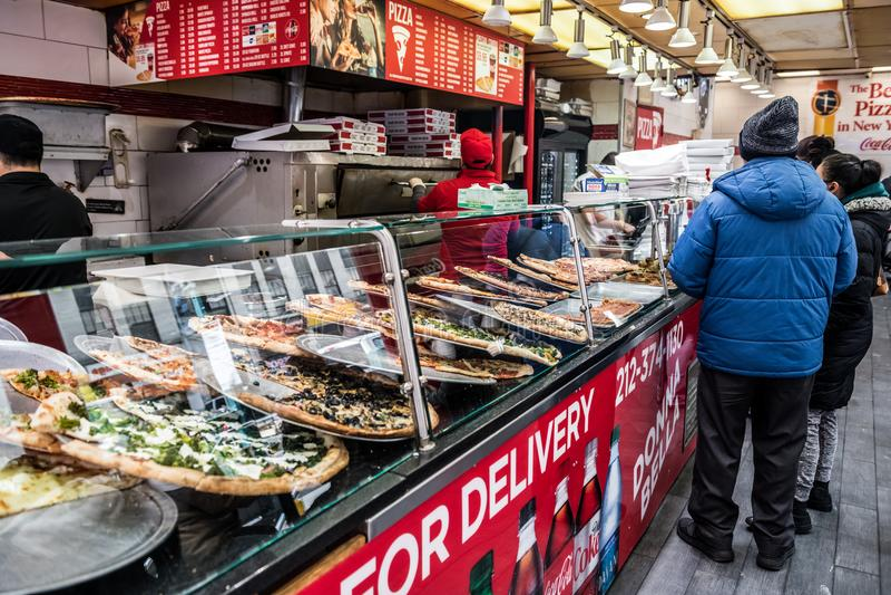 New York Pizza stock photos