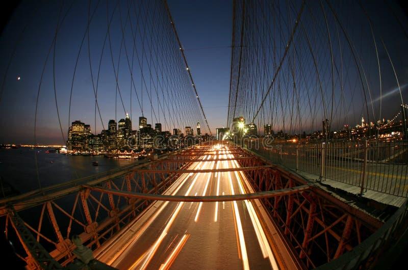 New York, ponte di Brooklyn immagini stock libere da diritti