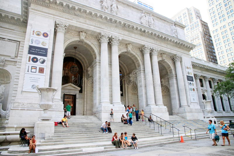 New York Public Library royalty free stock photography