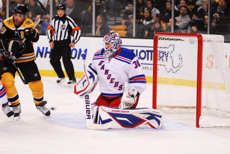 New York Rangers Goalie Henrik Lundqvist royalty free stock photography