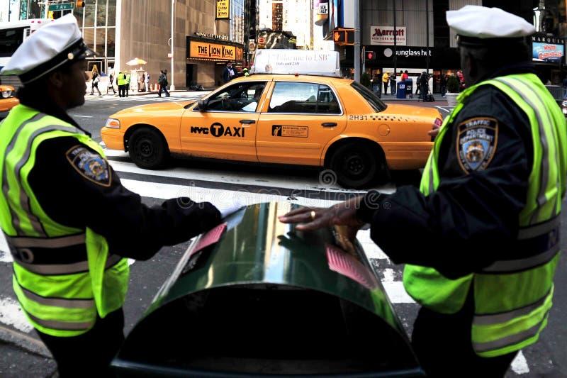 New York säkerhet royaltyfri bild