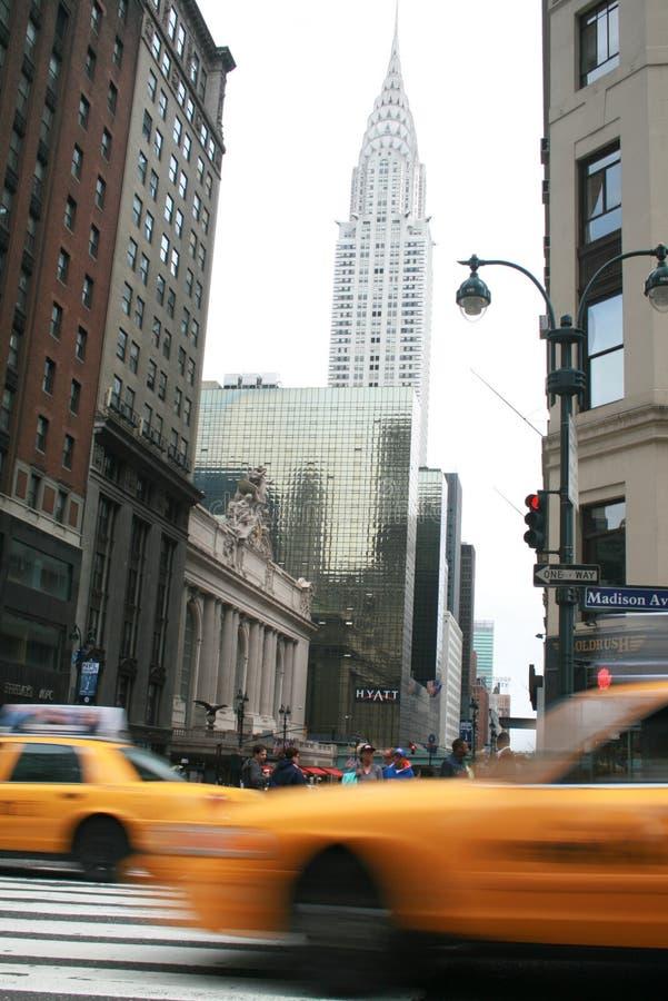 New york scene stock photography