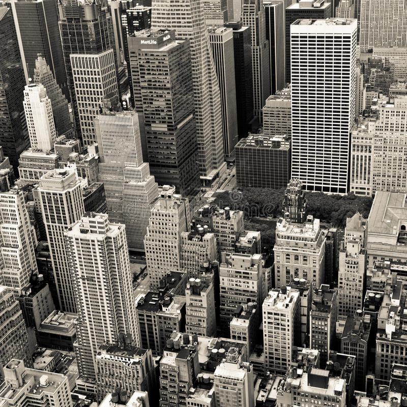 New York Schwarzweiss lizenzfreie stockbilder