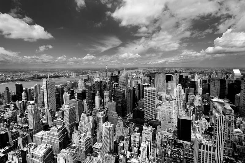 New York Schwarzweiss lizenzfreie stockfotografie