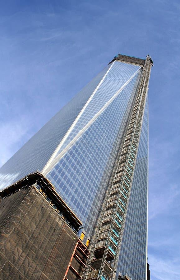 New York sex World Trade Center royaltyfri bild