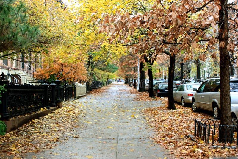 New York sidewalk stock photos