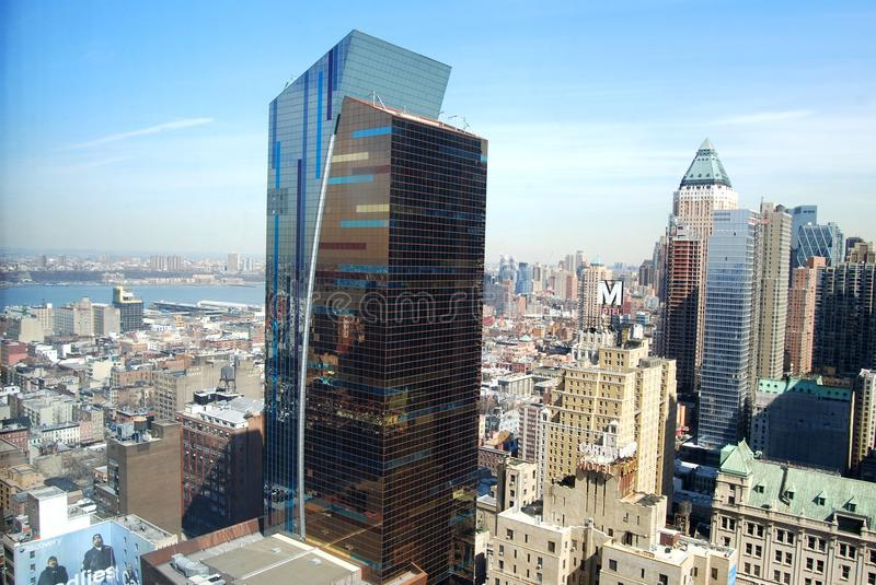 Download New York skyline editorial stock image. Image of real - 14404864