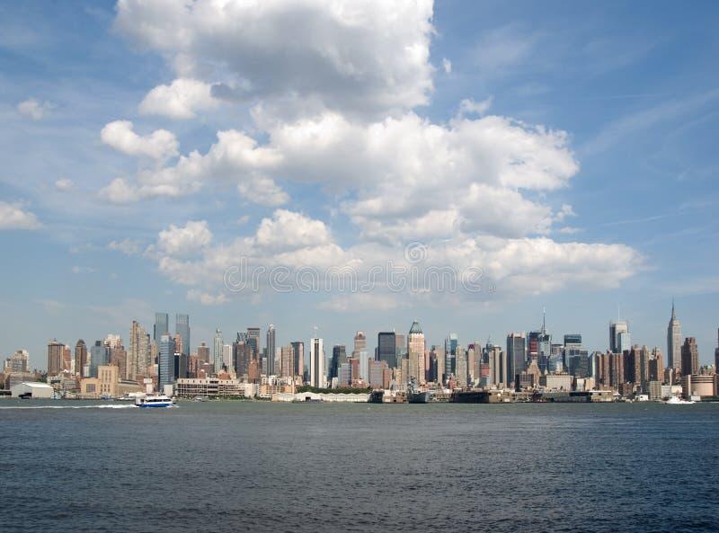 New York skyline stock photo