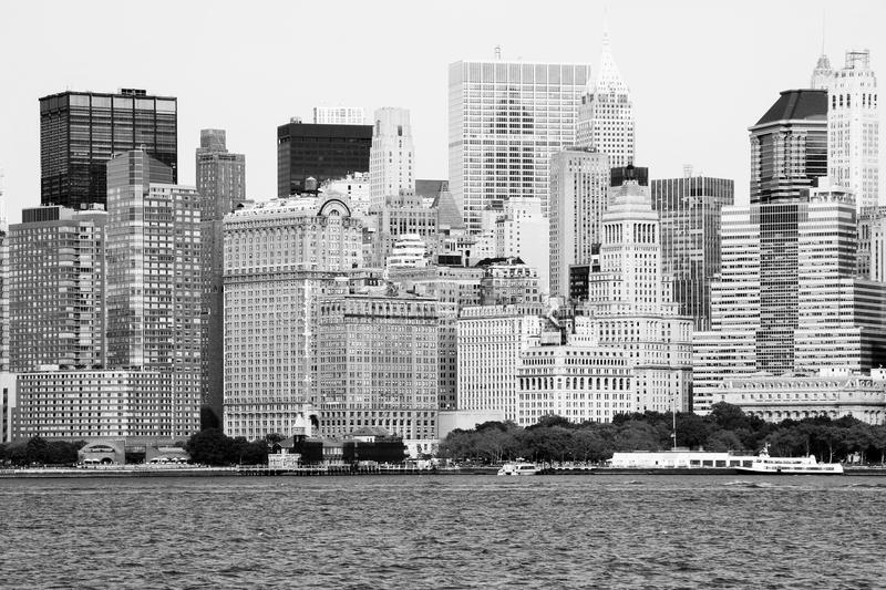 New York Skyline stock image