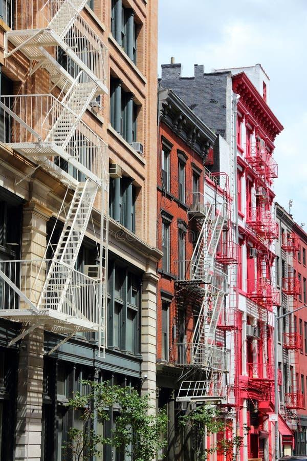 New York - SoHo arkivfoto