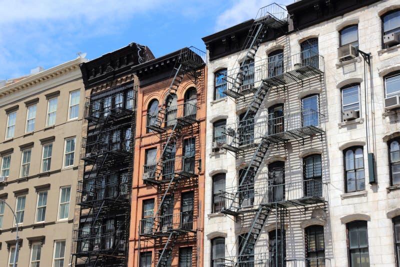 New York - SoHo arkivfoton