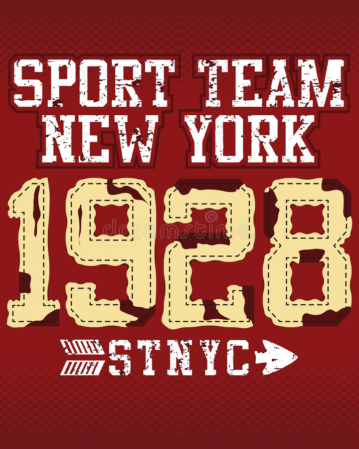 Download New York sports team stock vector. Illustration of black - 17462394