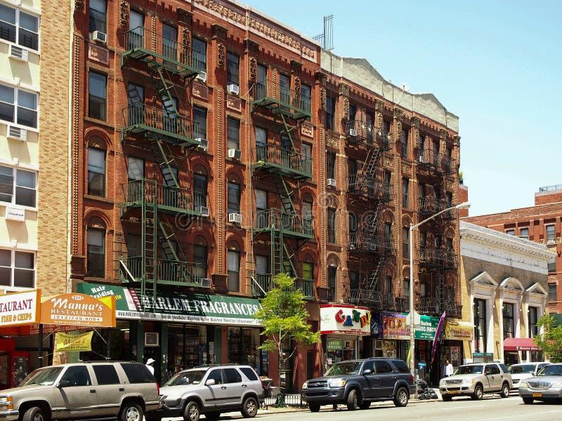 New- York - Staat-J Straße von Harlem in New York lizenzfreie stockfotos