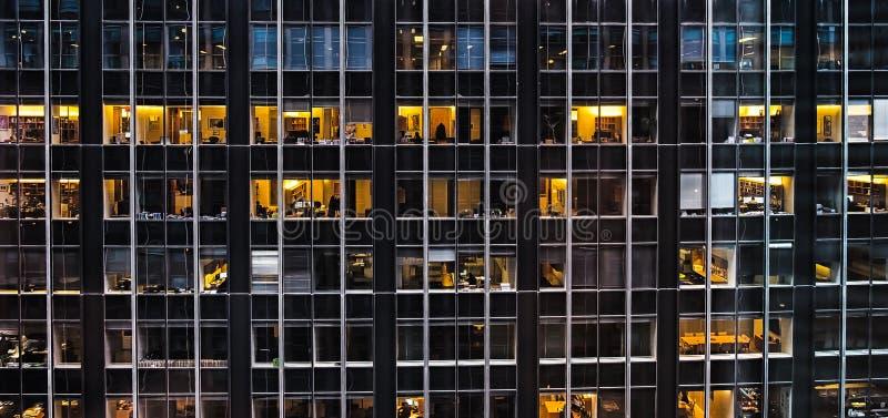 New York Stad-Midtown kontor fotografering för bildbyråer