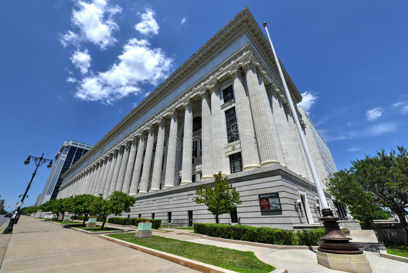 New York State Education Department Building, Albany stock image