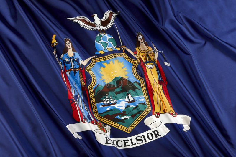 Download New York State Flag Royalty Free Stock Photo - Image: 14359815
