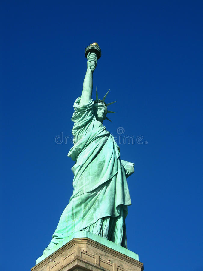 Download New York: Statue Of Liberty, An American Symbol Stock Image - Image: 23814365