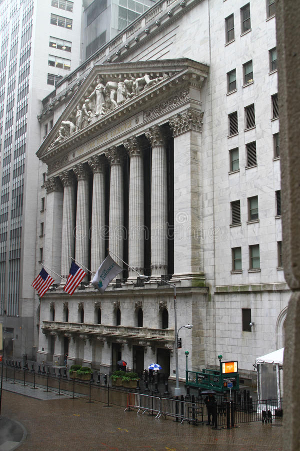 New York Stock Exchange royaltyfri foto