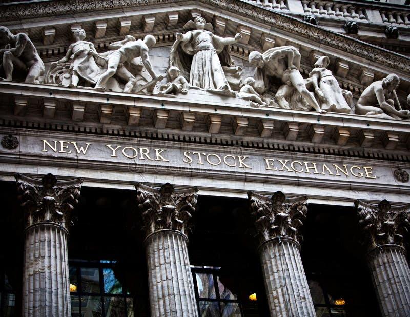 New York Stock Exchange fotografia de stock