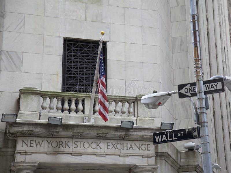 New York Stock Exchange arkivfoto
