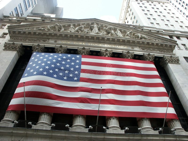 New-York Stock Exchange Editorial Stock Image