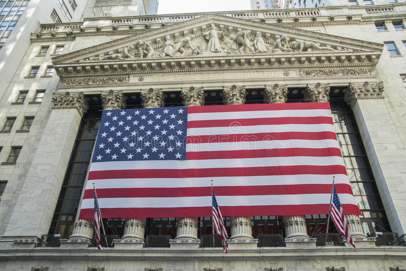 New York Stock Exchange royalty free stock images