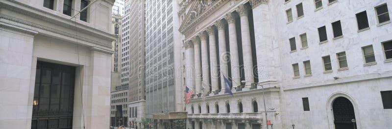 New York Stock Exchange dans le secteur financier du Lower Manhattan, New York City, NY image stock