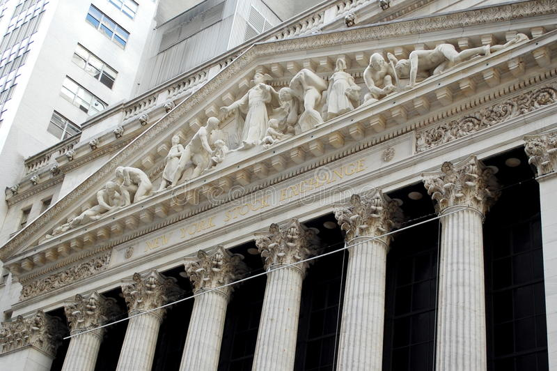 Download New York Stock Exchange, Wall Street Editorial Stock Photo - Image: 18487073