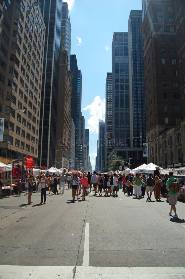 New York Street Market Editorial Photo