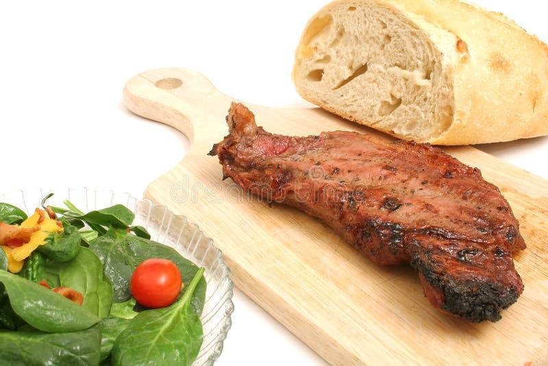 New york strip steak stock photography