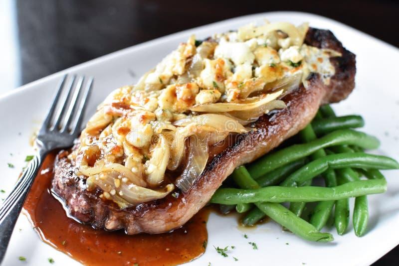 New York Strip Steak stock image