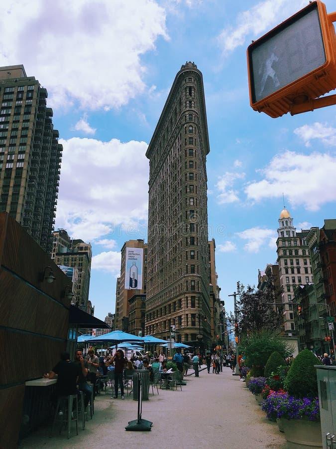 New York strykjärnbyggnad royaltyfri foto