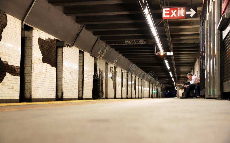 New York Subway Station stock photography