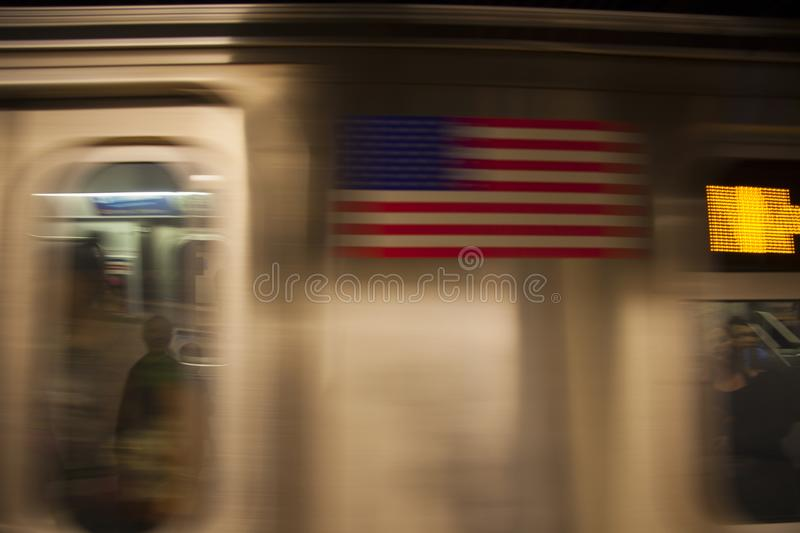 New York Subway royalty free stock image