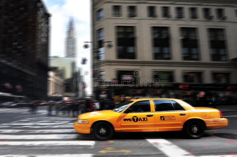 New York Taxicab Editorial Photography