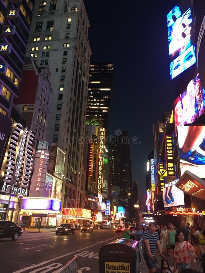 New York Time Square lizenzfreie stockbilder