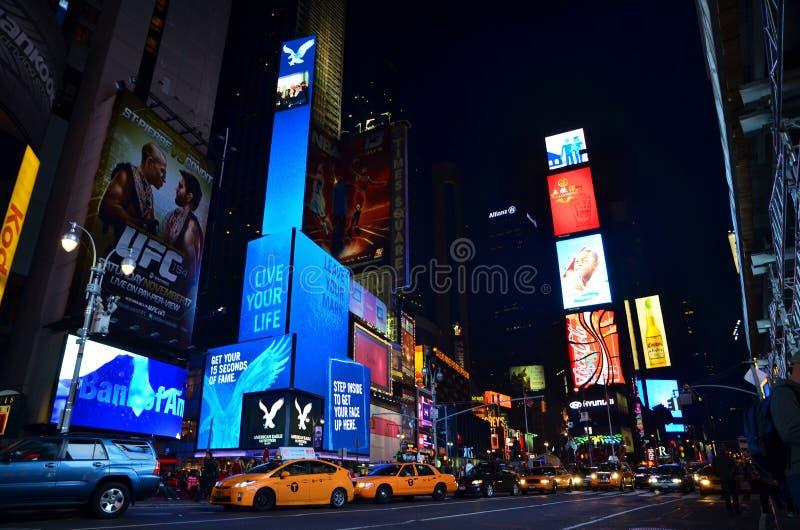 New York Time Square images libres de droits