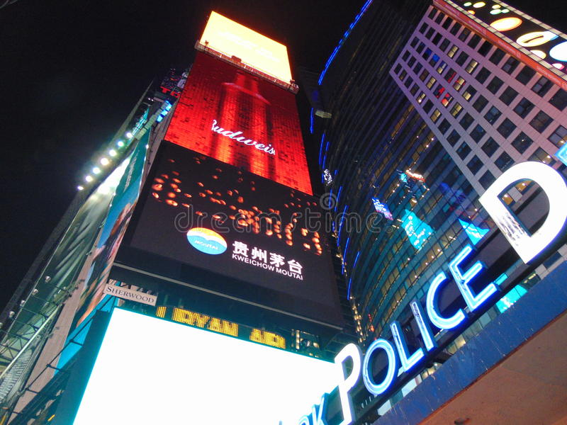 New York, Time Square royalty free stock photo
