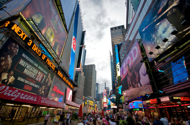 Download New York Times Square editorial photography. Image of store - 10785097