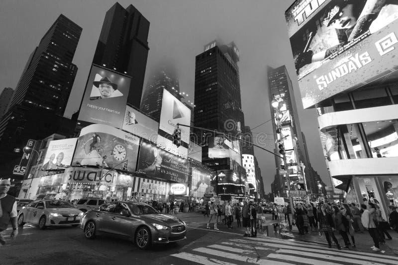 New York, Times square - Night traffic Times square, New York, Midtown, Manhattan. New York Unites States May 16, 2014 stock image