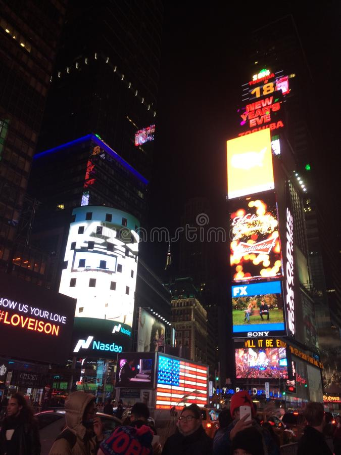 new york times square royalty free stock image