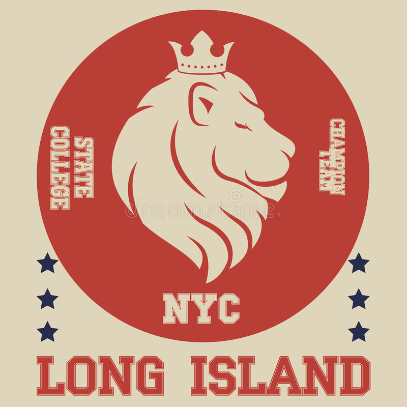 New york typography stock illustration